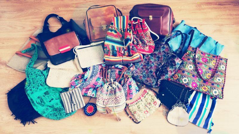 11 inspiracji jak przechowywać torebki